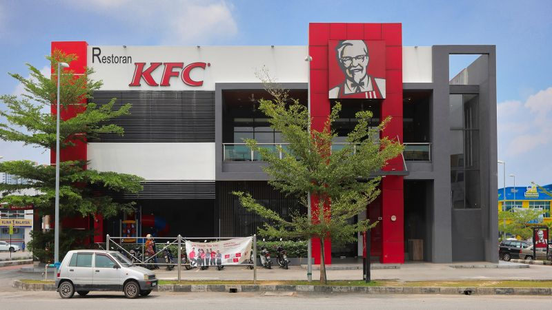 Modern KFC fast food restaurant design