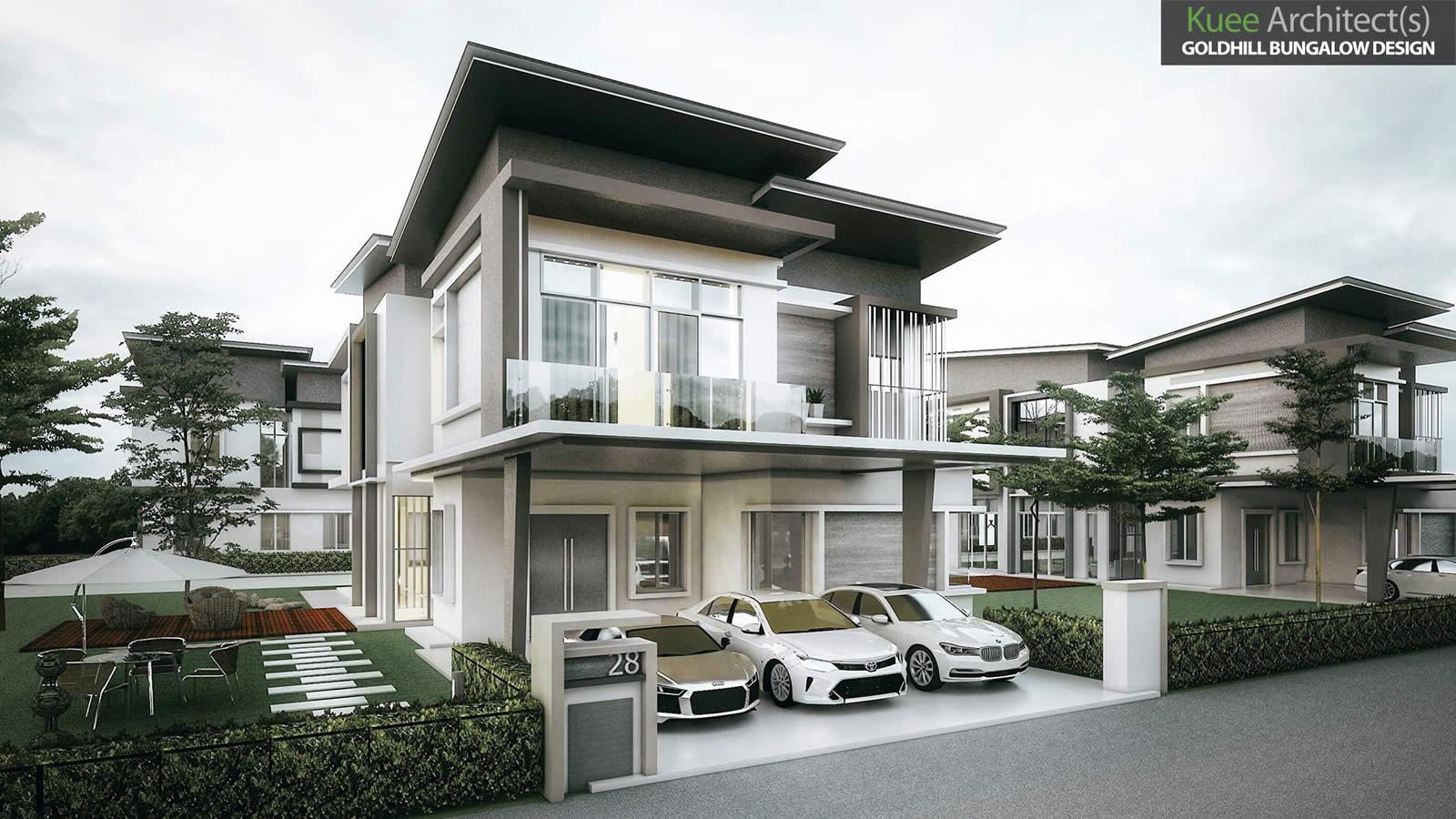 Goldhill Modern Bungalow house in Sitiawan Perak