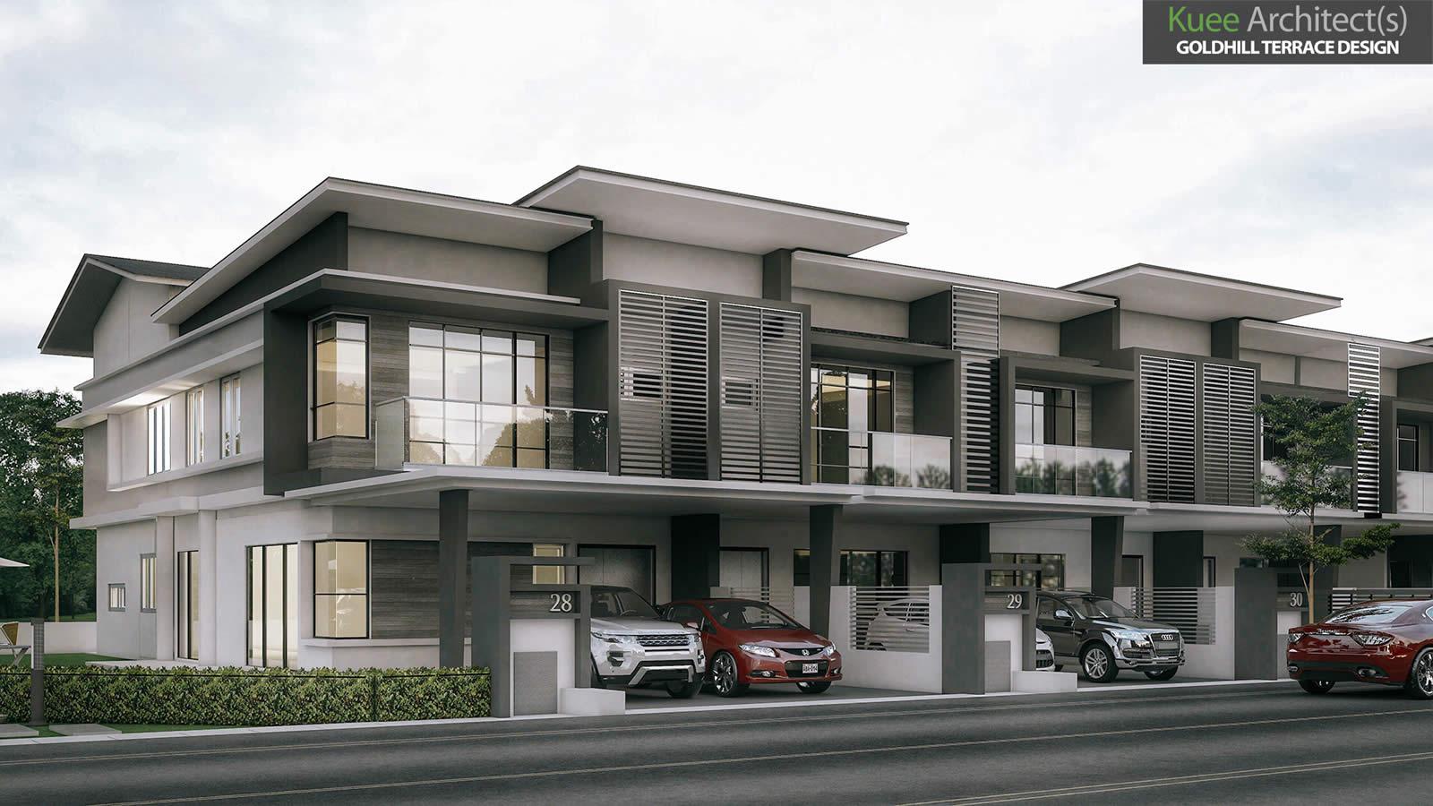 Goldhill Modern Semi-D house in Sitiawan Perak
