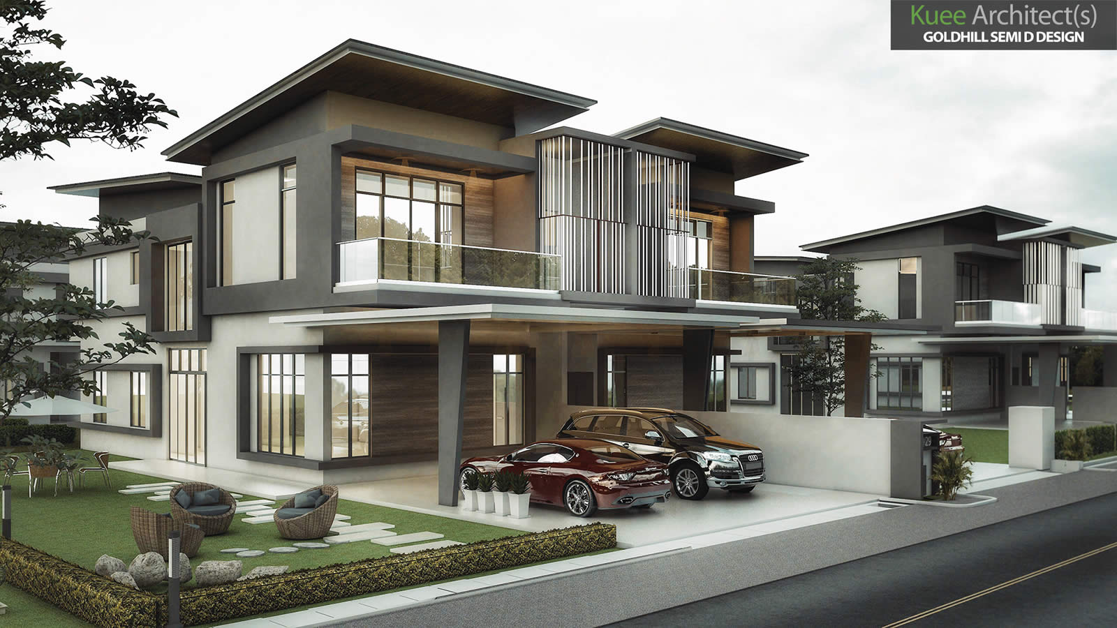 Goldhill Modern Semi Detached house in Sitiawan Perak