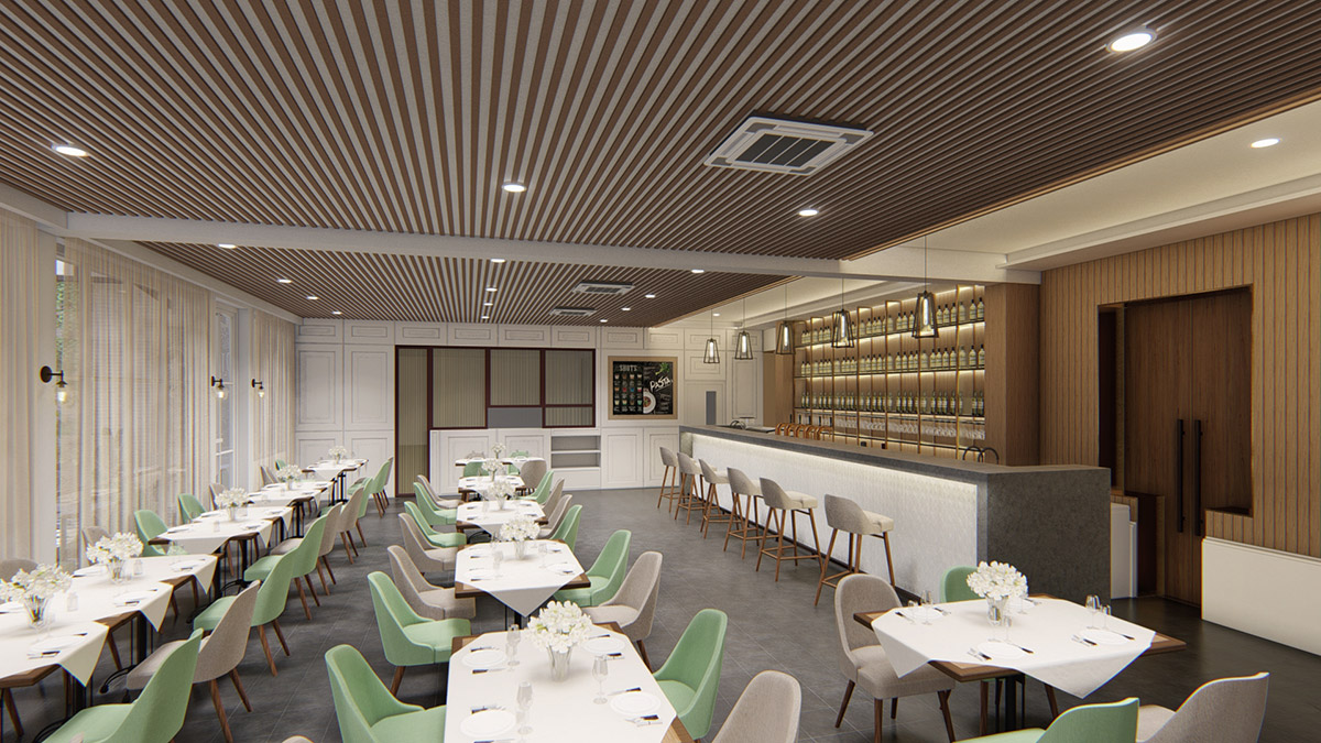 Interior Design for Indulgence restaurant & living Ipoh