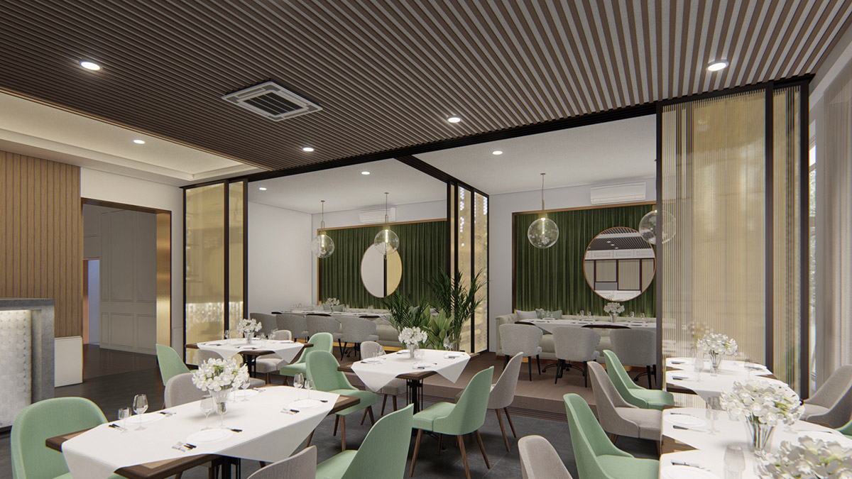 Interior Design for VIP Area Indulgence restaurant & living Ipoh