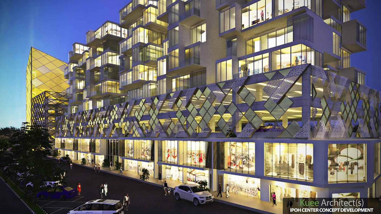 Ipoh signature landmark architecture design by Kuee Architect