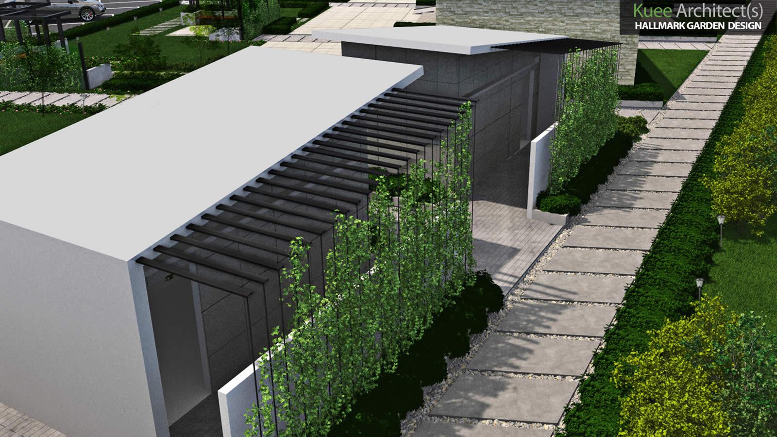 Modern Columbarium Design for Hallmark Garden Malaysia
