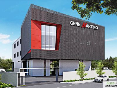 Modern Factory Architecture Design for Gene Martino in Taiping by Kuee Architect