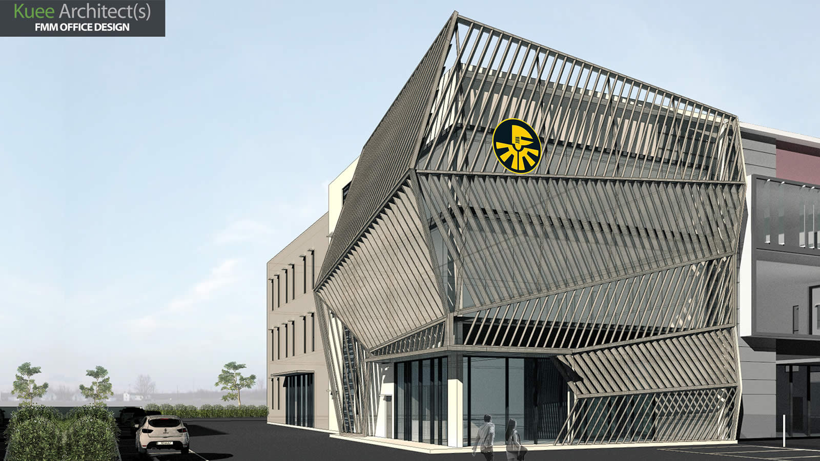 Commercial office architecture design-FMM in Selangor Kuee Architect