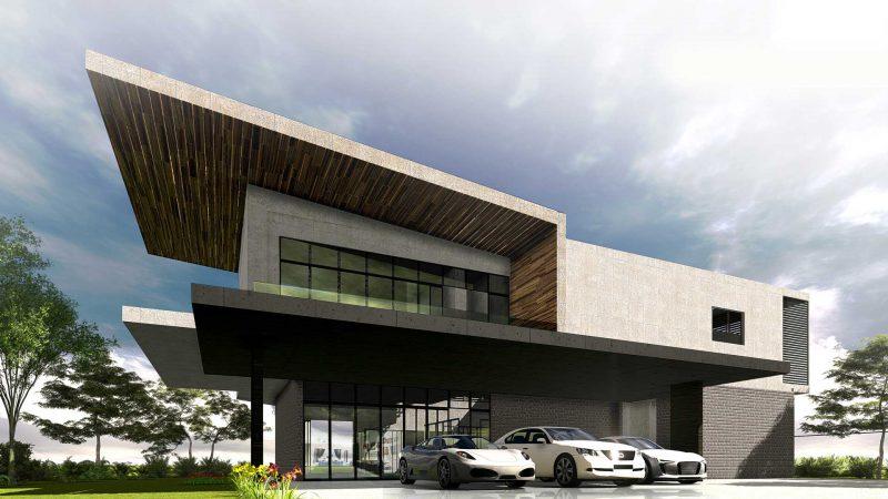 Teh & Teh Modern Bungalow Design in Malaysia