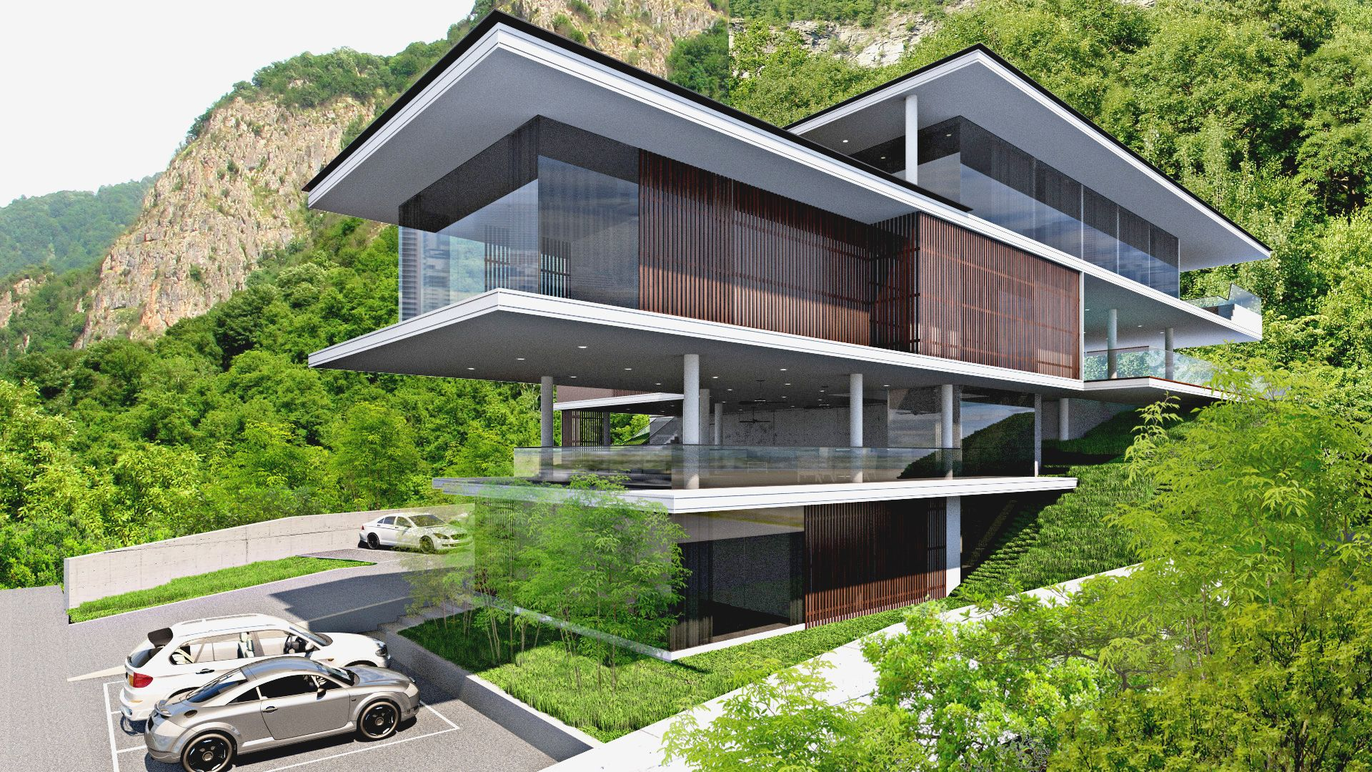 Modern Bungalow Design for Fam in Malaysia