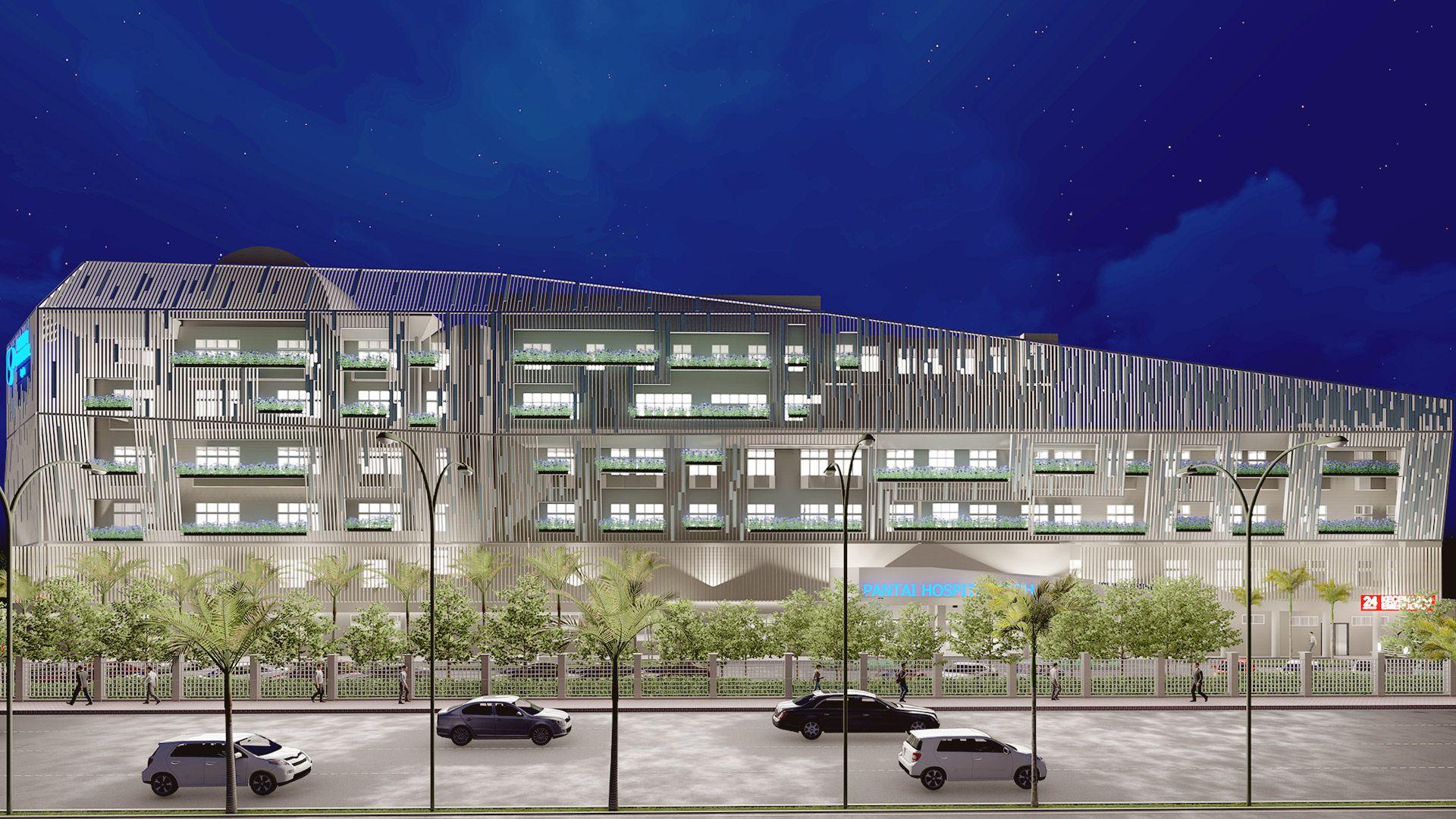 Pantai Hospital Ipoh-Modern Redesign Ipoh Arkitek
