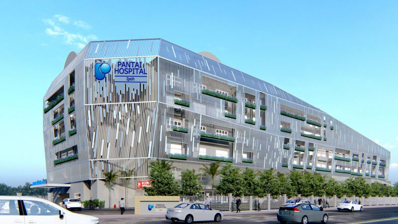 Pantai Hospital Ipoh facelift Kuee architect