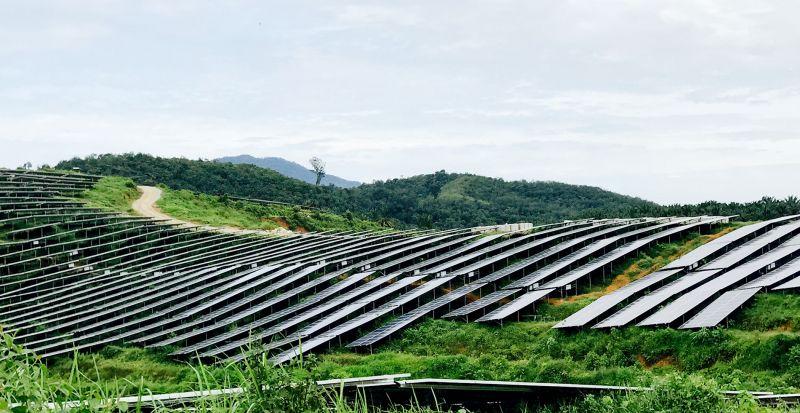 Sumec Solar Farm Exterior