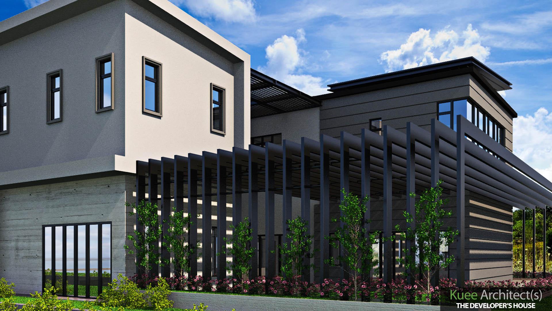 modern Bungalow Design in Meru Perak by Kuee Architect (1)