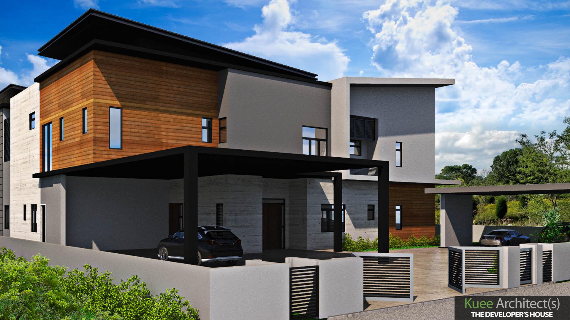 modern Bungalow Design in Meru Perak by Kuee Architect (3)