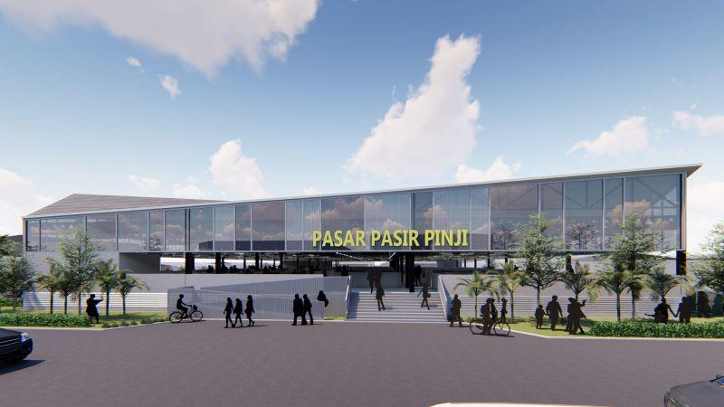 Pasar Pasir Puteh modern wet market design architecture
