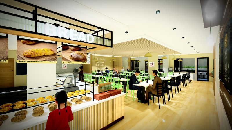 Pantai Hospital Ipoh cafe design