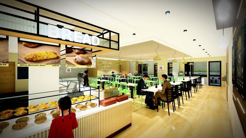 Pantai Hospital Ipoh cafe design