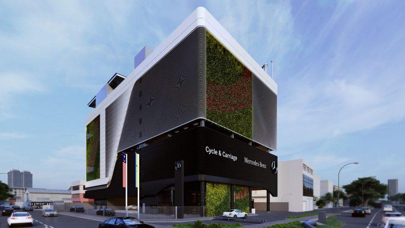 Mercedes Benz Penang Building